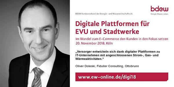 BDEW Digitale Plattformen 2018
