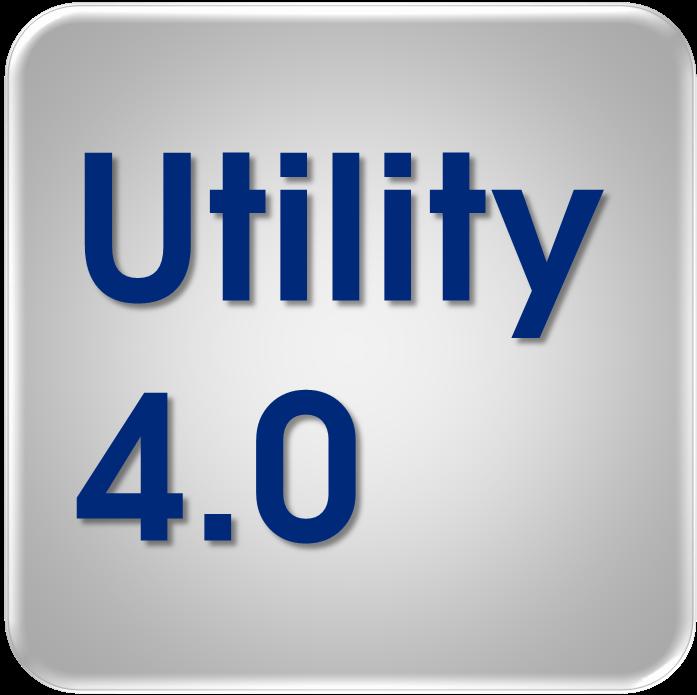 Logo Utility 4.0 von Oliver D. Doleski - 697x695