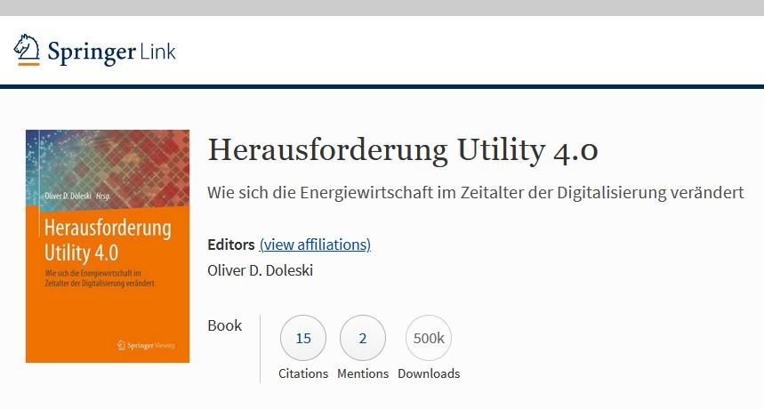 500.000 Downloads Herausforderung Utility 4.0